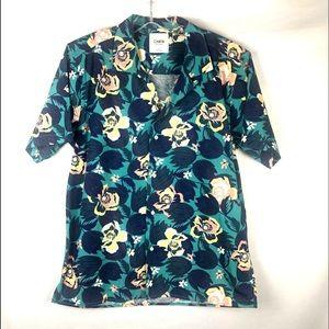 Katin Aloha Hawaiian Print shirt sz Large